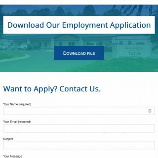 Job Openings page mobile view - full page