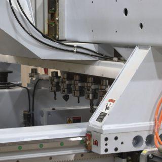 Shop photo - CNC nesting router close-up